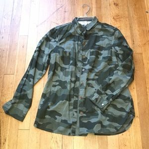 Camo men's classic shirt from Old Navy